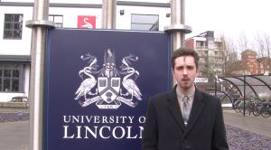 Jarrad Johnson at the University of Lincoln