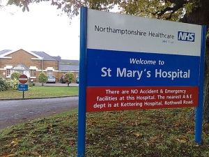 Welcome to St Mary's Hospital. No A and E service here.