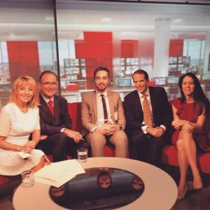 Being on the floor of BBC East Midlands Today during a live programme and helping with production was just so brilliant.