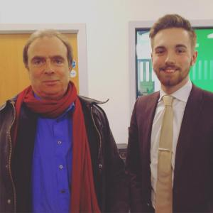 Peter Hitchens and Jarrad Johnson